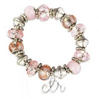 CTR Pink Bead Bracelet