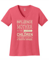 """The Influence of a Mother"" T-shirt"