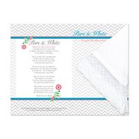 Pure & White Temple Handkerchief Print