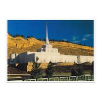 Billings Montana Temple 5x7 Print
