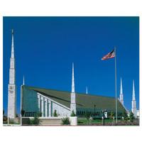 Boise Idaho Temple Day 8x10 Print