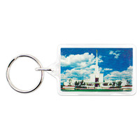 Denver Colorado Temple Key Ring
