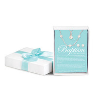 Baptism Pearls Jewelry Set