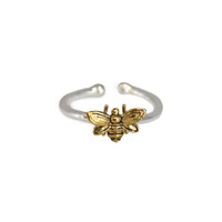 Beehive Adjustable Ring