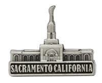 Sacramento California Temple Pin