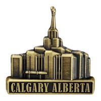 Calgary Alberta Temple Pin Gold