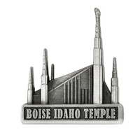 Boise Idaho Temple Pin