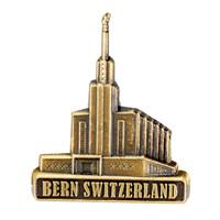 Bern Switzerland Temple Pin Gold