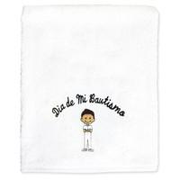 My Baptism Day Hispanic Boy Towel