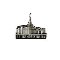 Brisbane Australia, Silver Pin