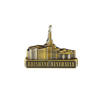Brisbane Australia, Gold Pin