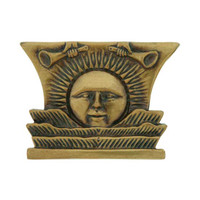 Sunstone Paperweight Solid Brass