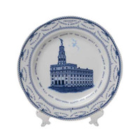 New Nauvoo Temple Plate (2002)