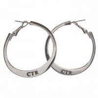 CTR Hoop Earrings