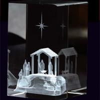 Nativity Scene Cube