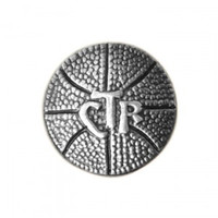 CTR Basketball Pin