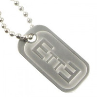 Endure to the End Mini Dog Tag