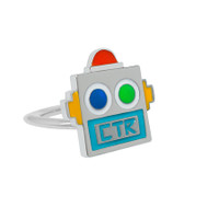 """""""Robot"""" Pinch fit CTR Ring Adjustable"""