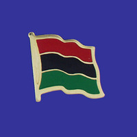 AFRO-AMERICAN FLAG PIN