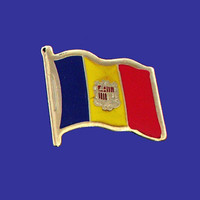 ANDORRA FLAG PIN