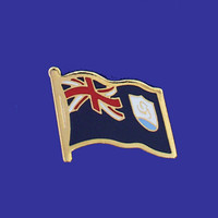 ANGUILLA FLAG PIN