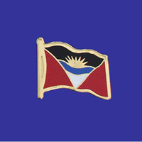 ANTIGUA AND BARBUDA FLAG PIN