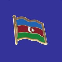 AZERBAIJAN FLAG PIN