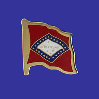 ARKANSAS STATE FLAG PIN