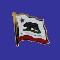 CALIFORNIA STATE FLAG PIN