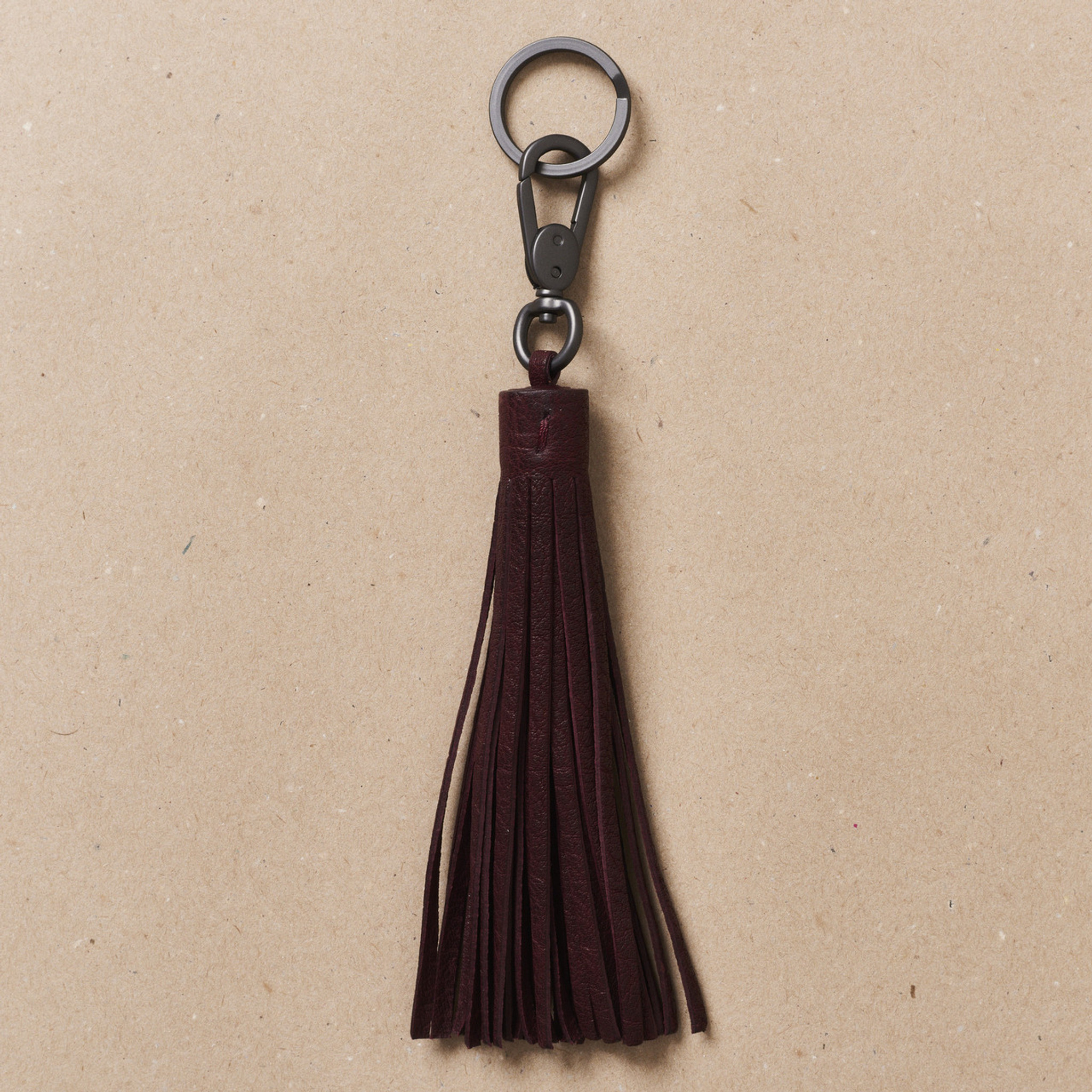 Sangria Tassel Key Holder