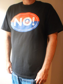 "Anti-Obama ""NO!"" T-Shirt - Men's Size LARGE"
