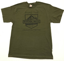 Military Green front of shirt