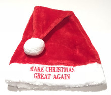 DONALD TRUMP - MAKE CHRISTMAS GREAT AGAIN - Santa Hat / Beanie / Cap