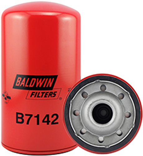 B7142 Baldwin Full-Flow Lube Spin-on Replaces Hyster 1313454; Perkins CV2473