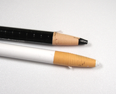 Choice of white or black china marker for marking spines and guide placement - non-permanent. China Markers