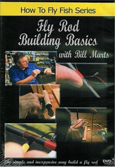 By Bill Marts, this is a no-nonsense, easy to follow DVD on basic fly rod construction. Fly Rod Building Basics