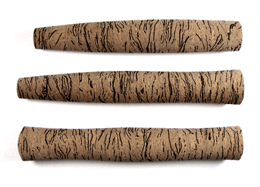 Custom Swirl burl cork grip.