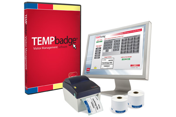Tempbadge Visitor Management System Eastern Data Secure