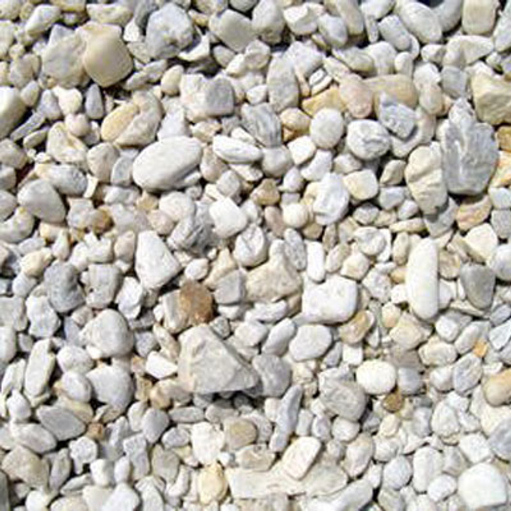 River Rock per Cubic yard (Only)
