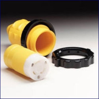 Marinco Locking Connector With 103RN Weatherproof Cover