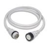 Marinco 50A 125/250V Power Cord Plus Cordset (4-Wire) White 50'  6152SPPW