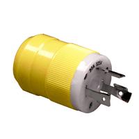Marinco 30 Amp 125 Volt (L5-30P) Corrosion Resistant Locking Plug