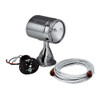 """Marinco 5"""" Stainless Steel Spot/Flood Light with 15' Harness and Control  22040A"""