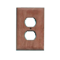 Whitecap Solid Teak Outlet Covers 60170