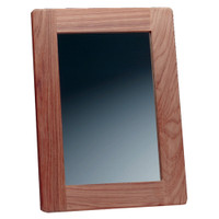 Whitecap Rectangular Teak Mirror