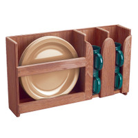 Whitecap Solid Teak Dish / Cup Holder