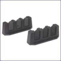 Attwood Rod Storage Holder - Black 12750-6