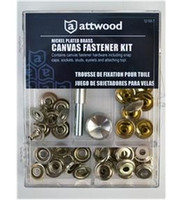 Attwood Canvas Fastener Kit  12158-7