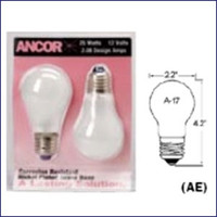 Marinco 531100 100 Watt Screw Base Bulb