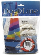 "Unicord White Twisted Nylon Dock Line 3/8"" Bag  401505 401536 401543"